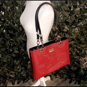 BEIJO Cherry Red Shoulder Bag
